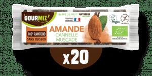 Barre Gourmiz' : amande - cannelle - muscade