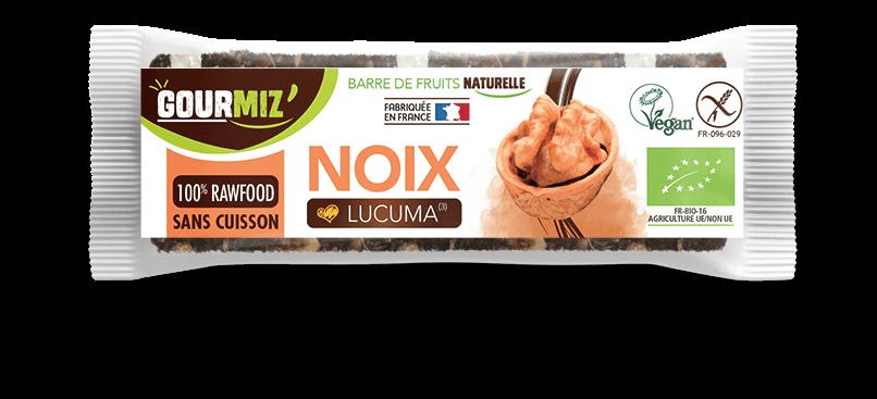 Barre Gourmiz' : noix - lucuma