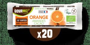 Barre Gourmiz' : orange-amandes-cacao