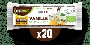 Barre Gourmiz' : vanille - noix de coco