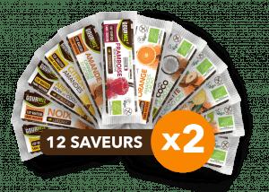 Pack 24 barres Gourmiz
